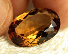 15.5 Carat Brazil Golden VVS Topaz - Beautiful
