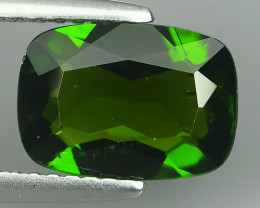2.40 Ct Eye Catching Natural Rich Green Chrome Diopside Cushion Top Quality