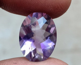 CHECKERED CUT AMETHYST GOOD QUALITY 100% NATURAL GEMSTONE VA4928