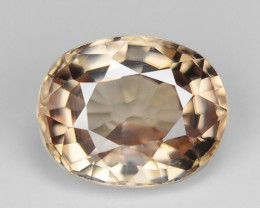 0.89 CT NATURAL  ZIRCON SPARKLING LUSTER YZ13