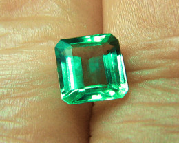 1.95 ct Natural Earth Mined Zambian Emerald Certified!