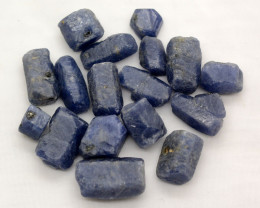 250 CTS SAPPHIRE CRYSTALS FROM MADAGASCAR