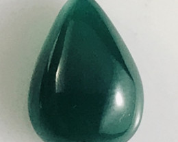 {retty Darker Green 7.75ct Green Onyx - Australia  NR39