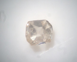 0.01 ct light brown VS old eight / table cut vintage diamond
