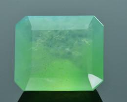 Peruvian Green Opal 5.86 ct AAA Rare Untreated/Unheated SKU.1