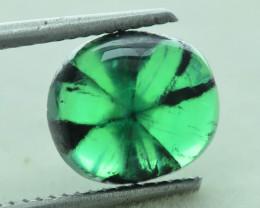 AIG Certified AAA Grade 3.50 ct Colombian Trapiche Emerald SKU-29