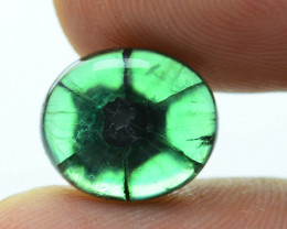 AIG Certified AAA Grade 3.75 ct Colombian Trapiche Emerald SKU-29