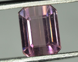 2.60 Cts Natural Pink Tourmaline Emerald Cut From Africa