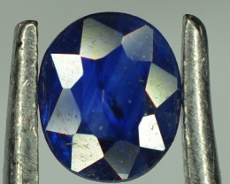 0.50 Cts Blue Sapphire Oval Shape From Africa