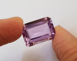 14.72 ct Certified Natural Amethyst Octagon #G0067b