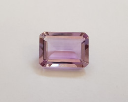 11.99 ct Certified Natural Amethyst Octagon #G0067d