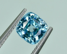 1.27 Crt Natural Zircon Faceted Gemstone.( AG 40)