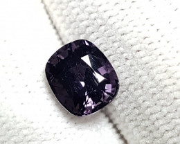 UNHEATED BURMESE 2.19 CTS NATURAL STUNNING PURPLE SPINEL