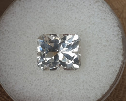 7,00 ct White Topaz - Master cut!