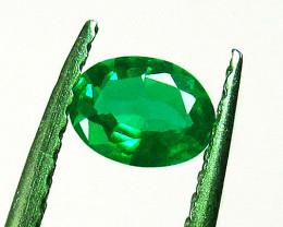 2.39 ct Majestic Zambian Emerald Certified!