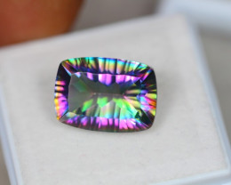 5.91ct Mystic Topaz Octagon Cut Lot V4027