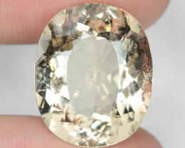 14.83 Cts NATURAL FANCY MORGANITE LOOSE GEMSTONE