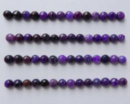 Beautiful Sugilite,Handmade Gemstone ,Sugilite Bead ,Lucky Stone C407
