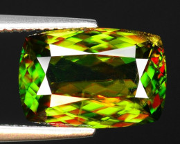 5.95 CT SPHENE WITH DRAMATIC FIRE GEMSTONE SP1