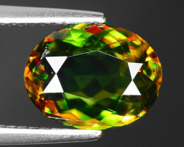 2.50 CT SPHENE WITH DRAMATIC FIRE GEMSTONE SP3