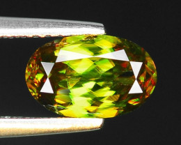 1.53 CT SPHENE WITH DRAMATIC FIRE GEMSTONE SP5
