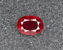 Certified Natural Ruby 0.84 Cts from Mozambique