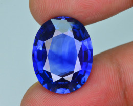 AAA Grade & Color 15.02 ct Royal Blue Sapphire