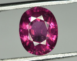 2.75 Cts Grape Garnet / Purple Garnet Oval Shape From Mozambique