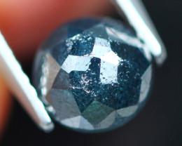 1.19Ct Natural Fancy Blue Rose Cut Diamond E1002