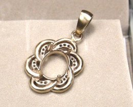 2.174g 9K Gold Casting Pendant Ready To Set A1108