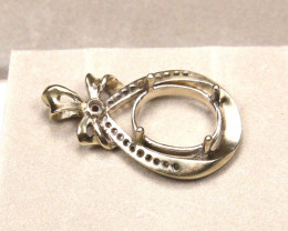 2.64g 9K Gold Casting Pendant Ready To Set A1109
