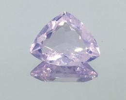 8.38 Carat VS Lavender Quartz Trillion Unheated Luminescent Quality !