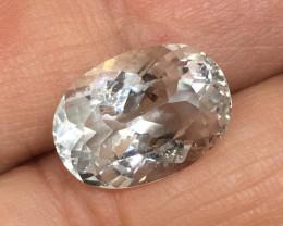 7.25 Carat VS Topaz - Diamond White Color Untreated Quality !