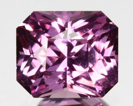 0.76 Cts Unheated Natural Sweet Pink Sapphire Octagon Cut Ceylon - Sri Lank