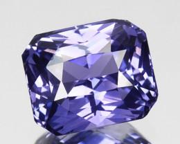 0.95 Cts Natural Purple Sapphire Octagon Cut Sri Lanka Gem