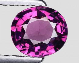 1.05 Cts Natural Grape- Purple Garnet Excellent Color Gr32