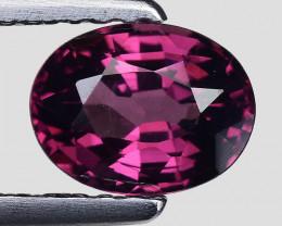 1.08 Cts Natural Grape- Purple Garnet Excellent Color Gr38