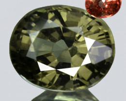 1.09Ct Natural Color Change Garnet Oval Kenya