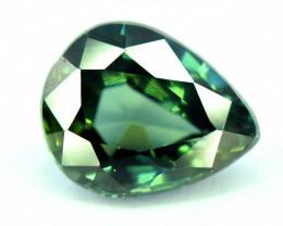 1.65 Carats Gorgeous Green Sapphire Gemstone