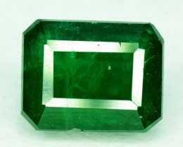 1.05 carats Deep Green Color Swat Emerald Gemstone