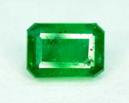 0.85 carats Deep Green Color Swat Emerald Gemstone