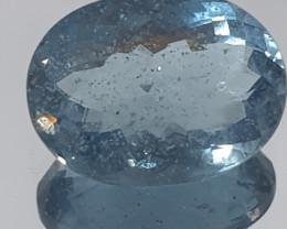 3 ct Deep Blue Aquamarine