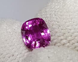 NO HEAT 1.01 CTS CERTIFIED NATURAL STUNNING PINK SAPPHIRE SRI LANKA
