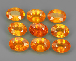 9.15 CTS WORLD CLASS RARE COLLECTION - 100 % NATURAL TOP ORANGE SPESSARTITE