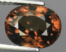 3.10 CTS~TOP LUSTROUS NATURAL CAMBODIA OVAL~RARE COLOR ZIRCON!!