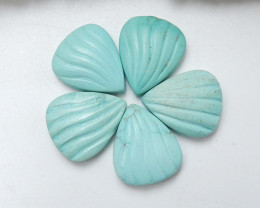 16cts Turquoise ,Handmade Gemstone ,Turquoise Cabochons ,Lucky Stone C443