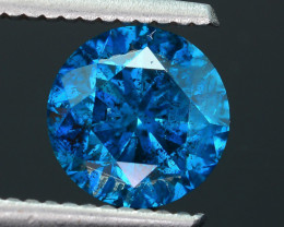 AIG Certified Amazing Blue 2.05 ct I1 Clarity Diamond SKU-10