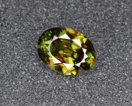 Natural Chrome Sphene 1.82 Cts from Skardu, Pakistan