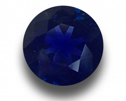Natural 6 mm Royal Blue Sapphire|Loose Gemstone|New| Sri Lanka