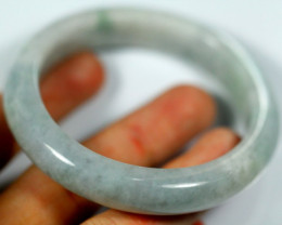 Jadeite Jade Bangle Bracelet 263.0ct.53.9mm